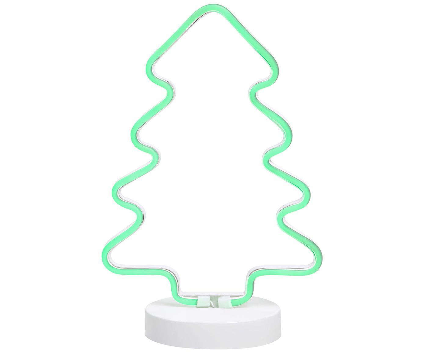 LED-Leuchtobjekt Vegas, Weiß, 23 x 36 cm