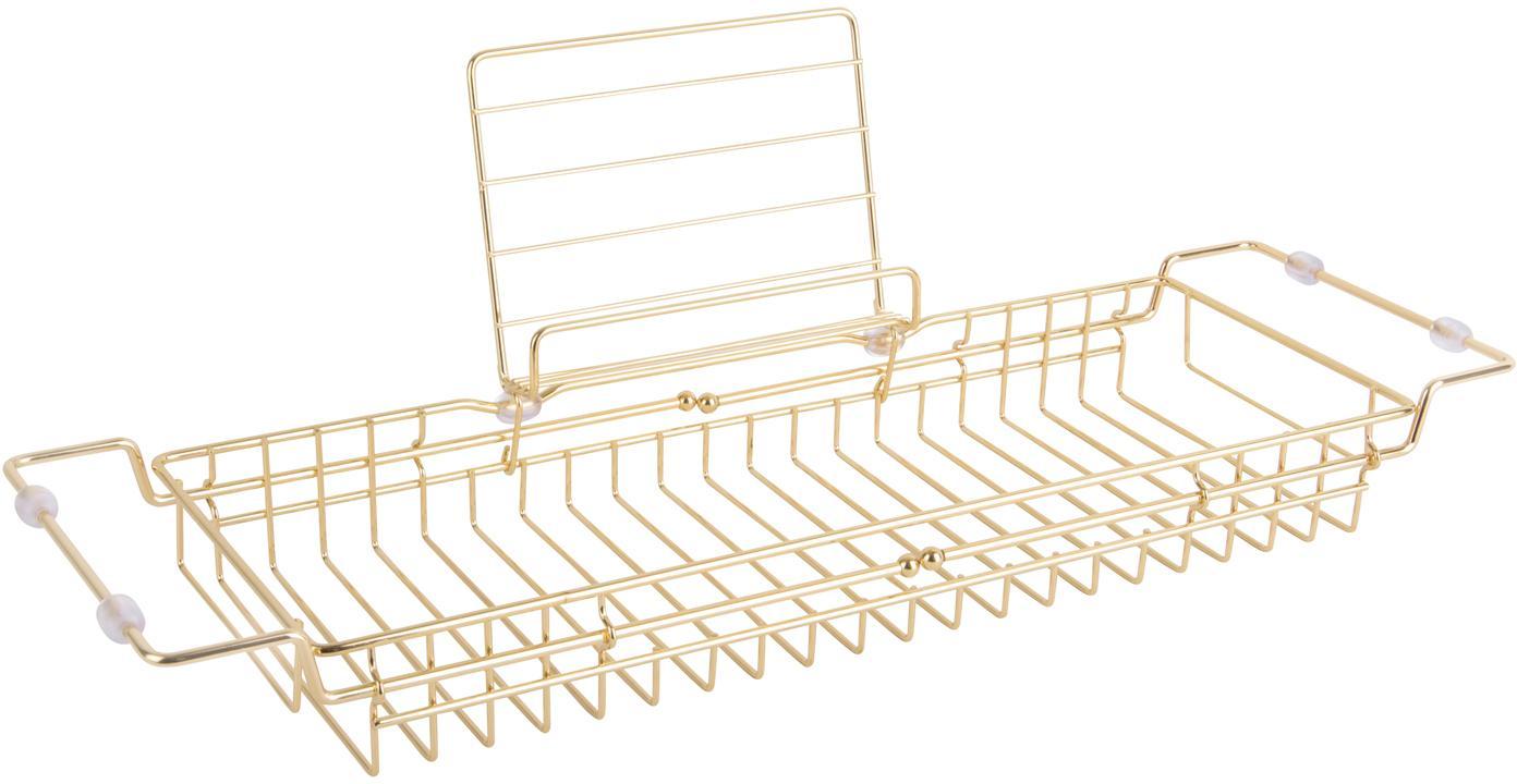 Półka do wanny Tubad, Metal powlekany, Odcienie złotego, S 61 x W 18 cm