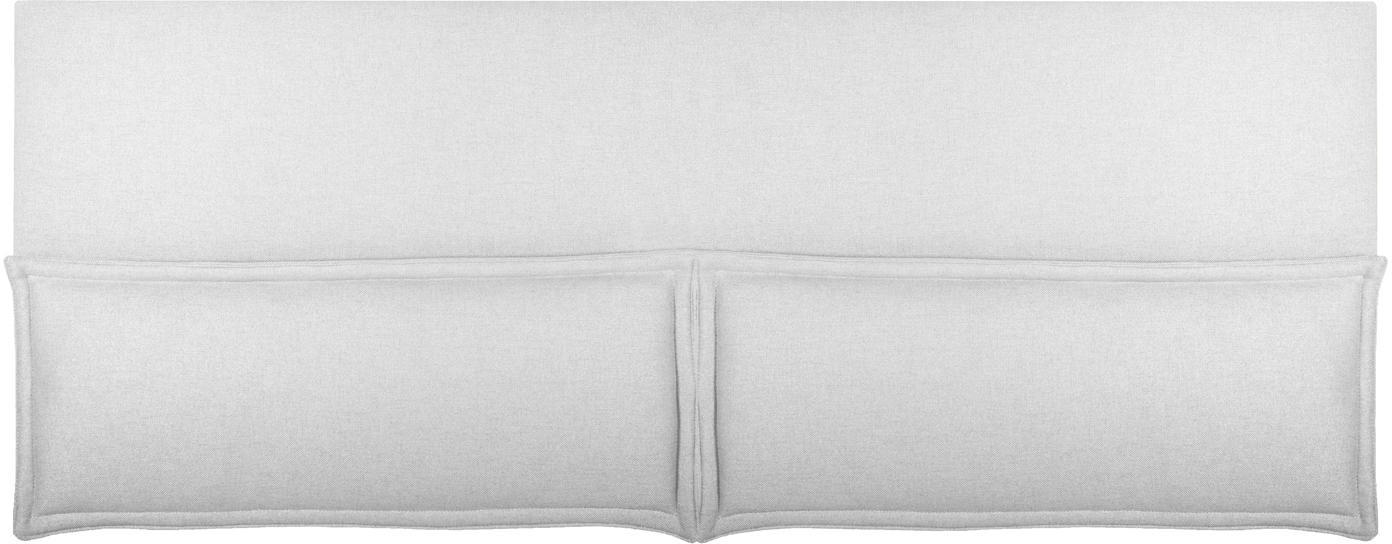 Cabecero Comfort, Estructura: madera de pino, madera co, Tapizado: 100%poliéster Alta resis, Blanco crudo, An 160 x Al 80 cm