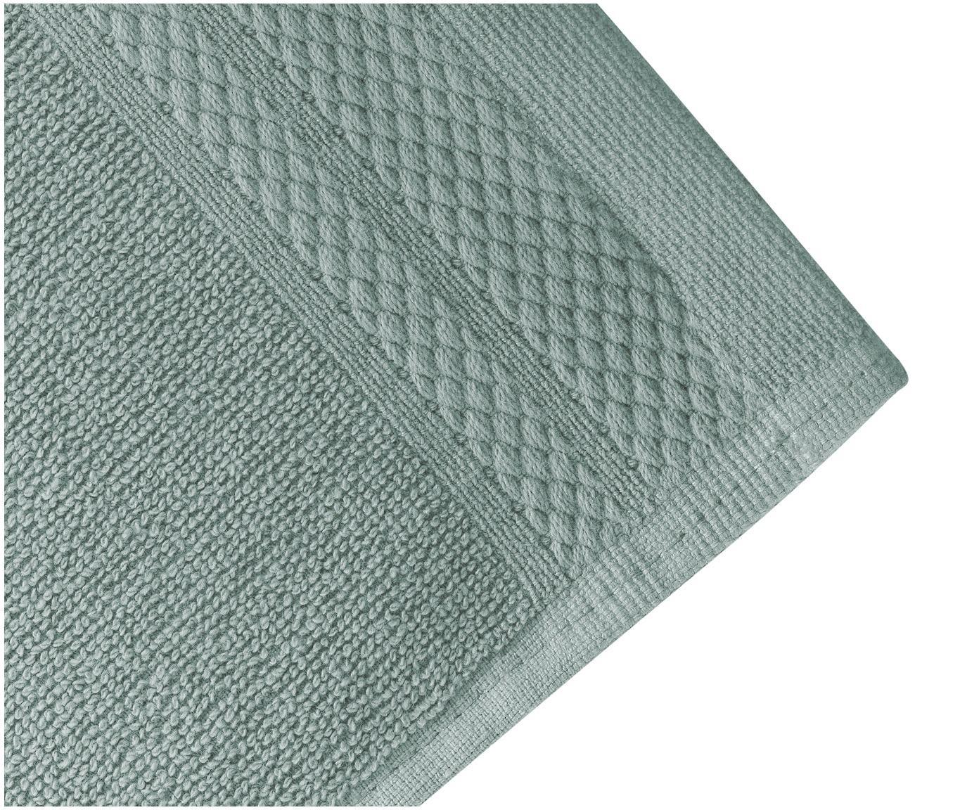 Set asciugamani Premium 3 pz, Verde, Diverse dimensioni