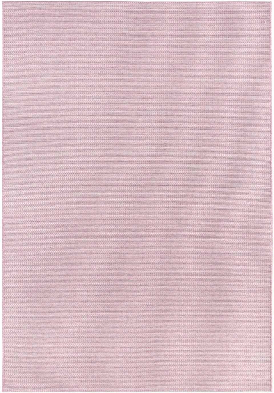 In- und Outdoor Teppich Millau in Rosa, 100% Polypropylen, Rosa, B 140 x L 200 cm (Grösse S)