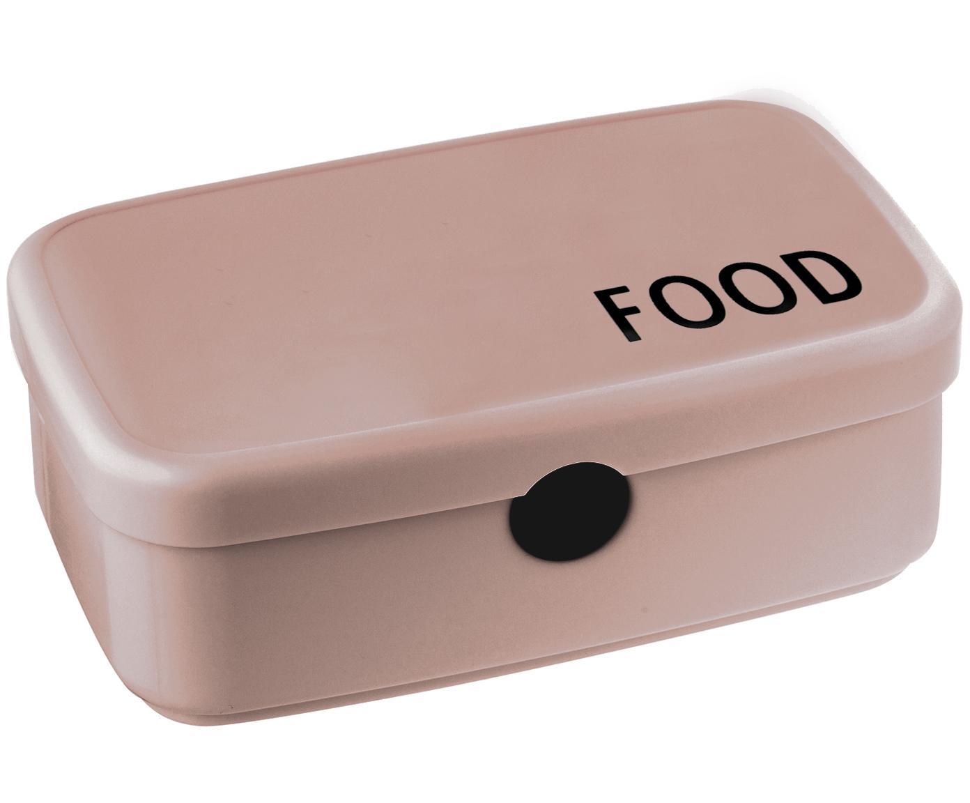 Lunchbox Food, Tritan (kunststof, BPA-vrij), Beige, 18 x 6 cm