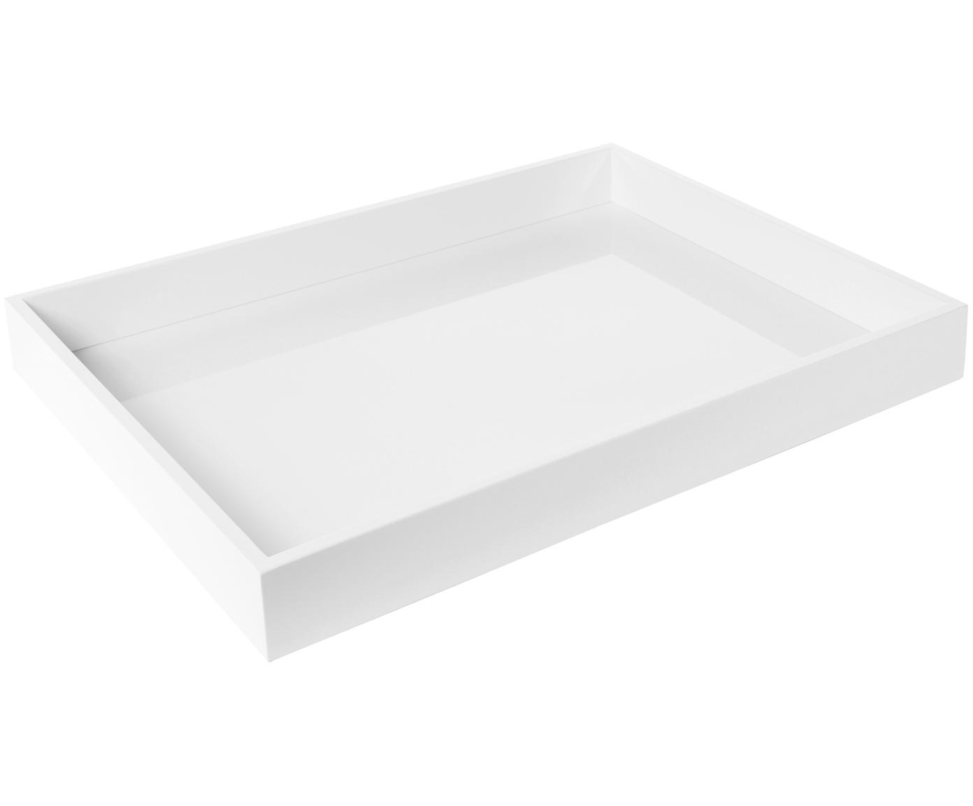 Taca Tracy, Biały, S 50 x G 35 cm