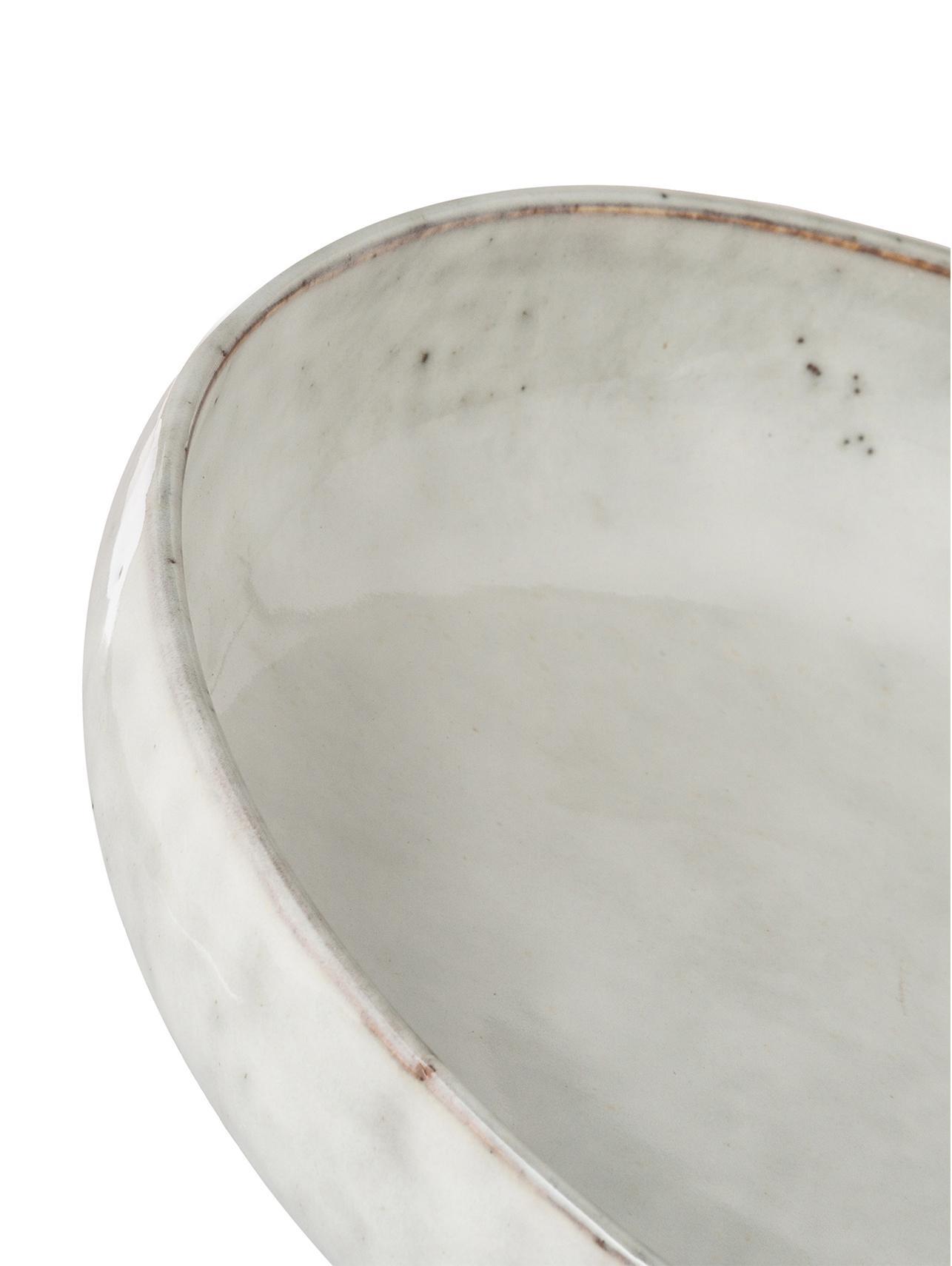 Ciotola in teracotta fatta a mano Nordic Sand 4 pz, Terracotta, Sabbia, Ø 22 x Alt. 5 cm