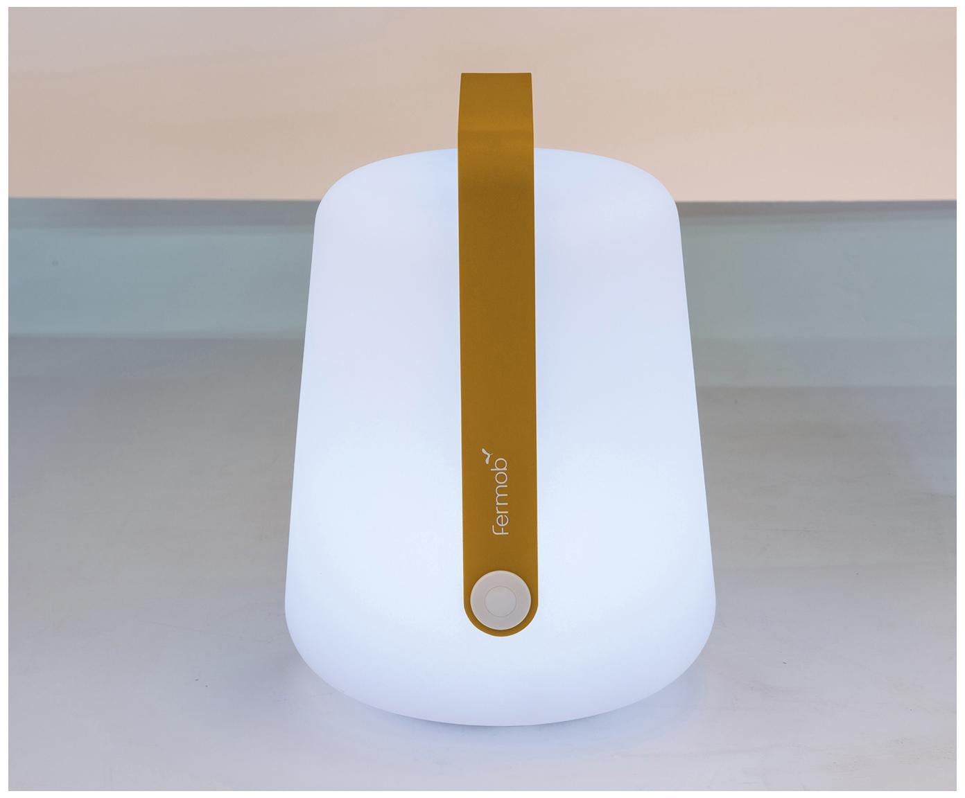 Zewnętrzna lampa mobilna LED Balad, Żółty, Ø 19 x W 25 cm