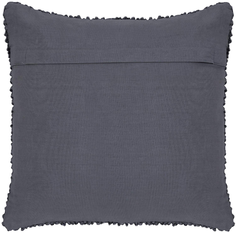 Poszewka na poduszkę Indi, 100% bawełna, Ciemnyszary, S 45 x D 45 cm