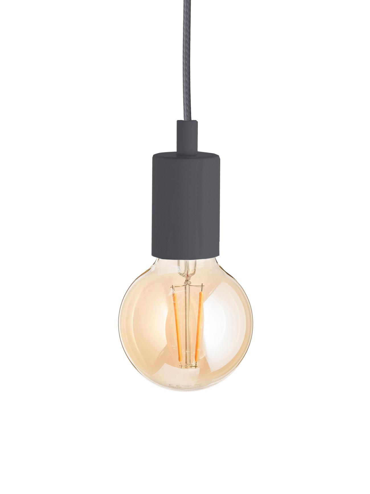Lampada a sospensione Color, Grigio, Ø 5 x Alt. 6 cm