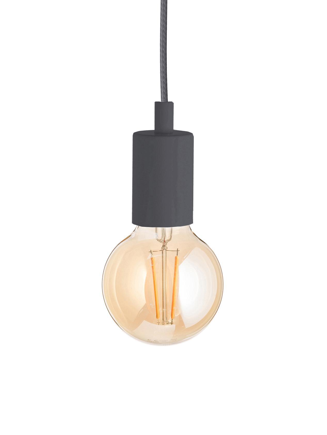 Hanglamp Color, Grijs, Ø 5 x H 6 cm