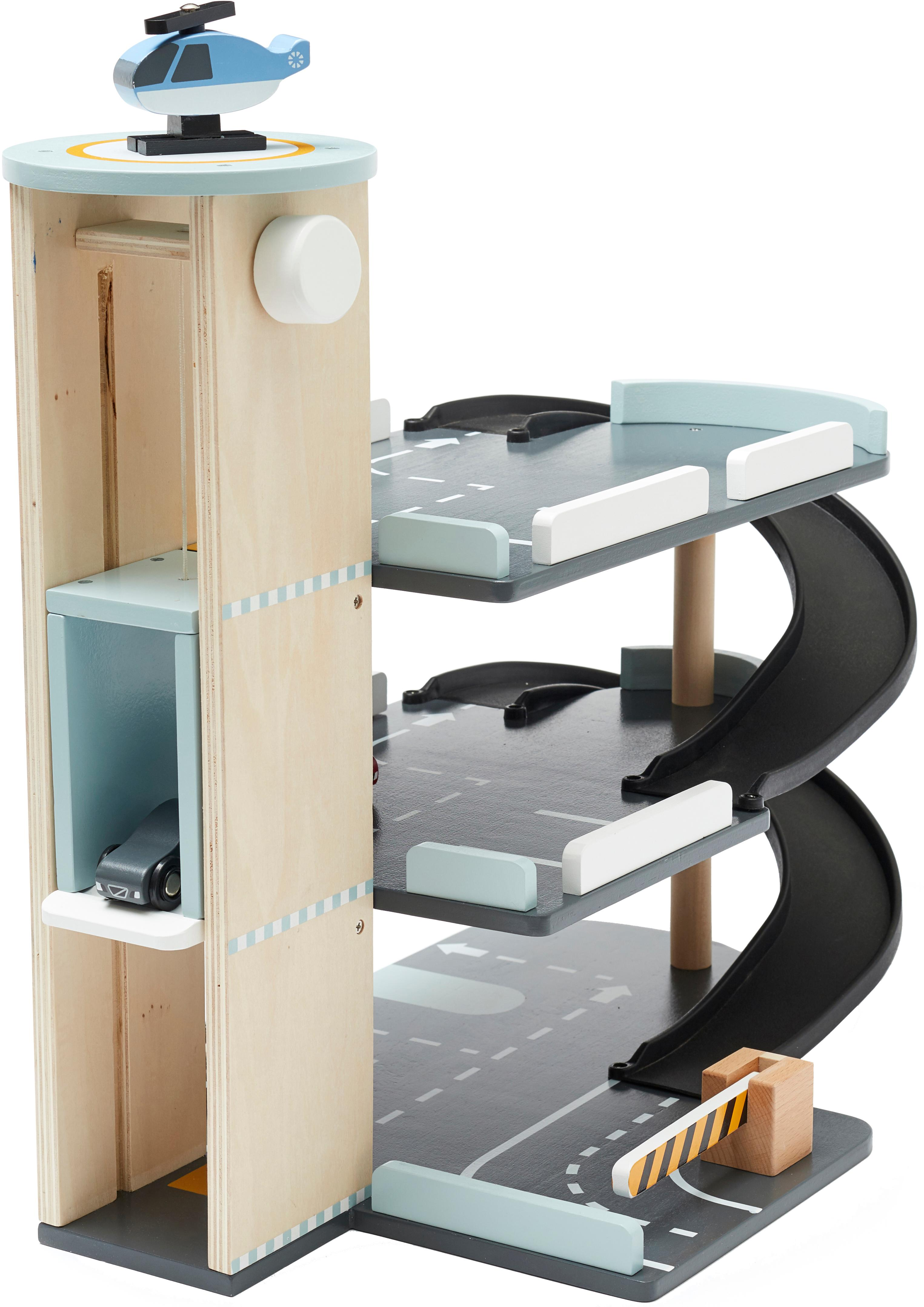 Spielzeug-Set Aiden, Holz, Mehrfarbig, 45 x 52 cm