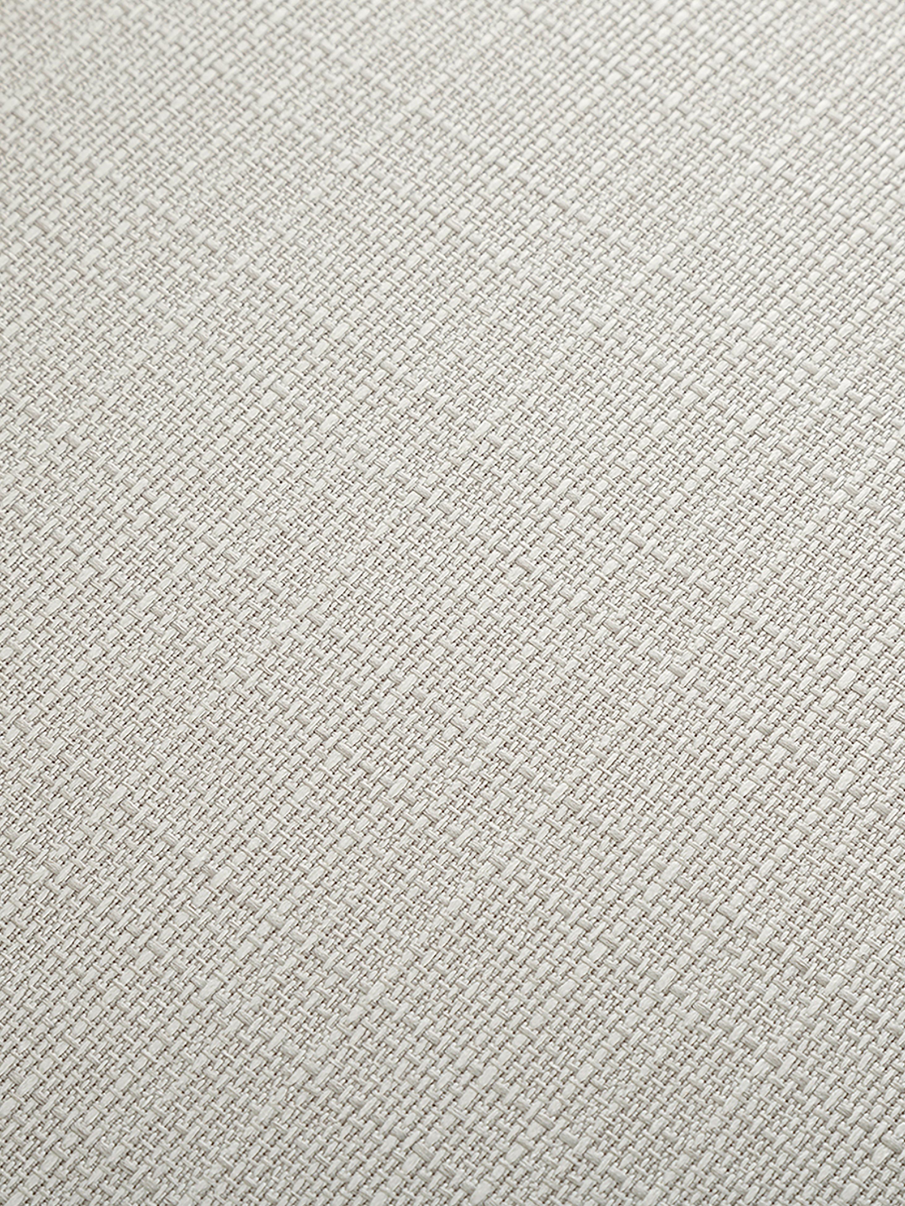 Silla tapizada Cleo, Tapizado: poliéster 50.000ciclos e, Patas: metal con pintura en polv, Tejido blanco crema, An 51 x F 62 cm