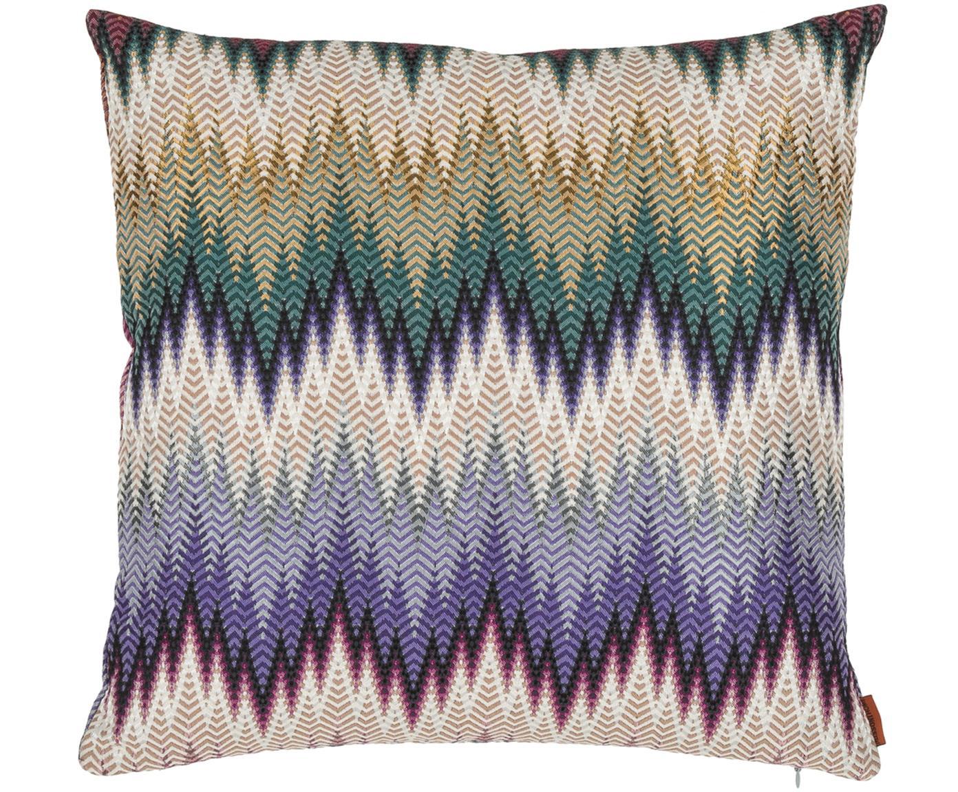 Cuscino Phrae, Rivestimento: 57% cotone, 26% poliester, Multicolore, Larg. 40 x Lung. 40 cm