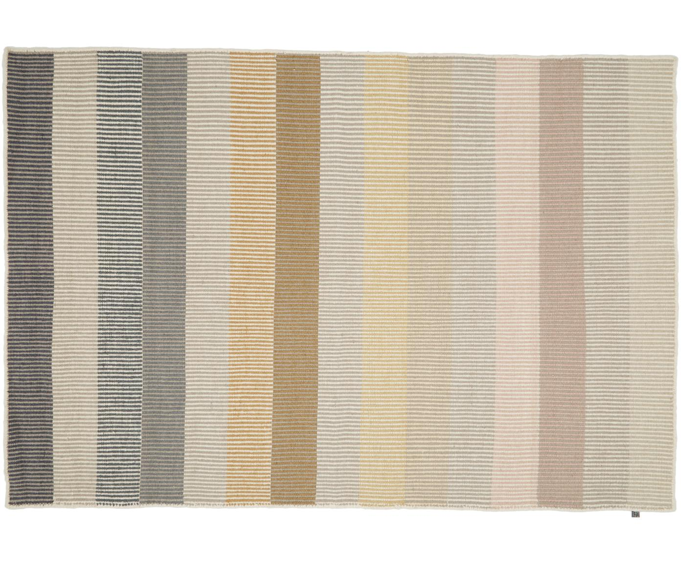 Alfombra kilim artesanal de lana Devise, Multicolor, An 140 x L 200 cm (Tamaño S)