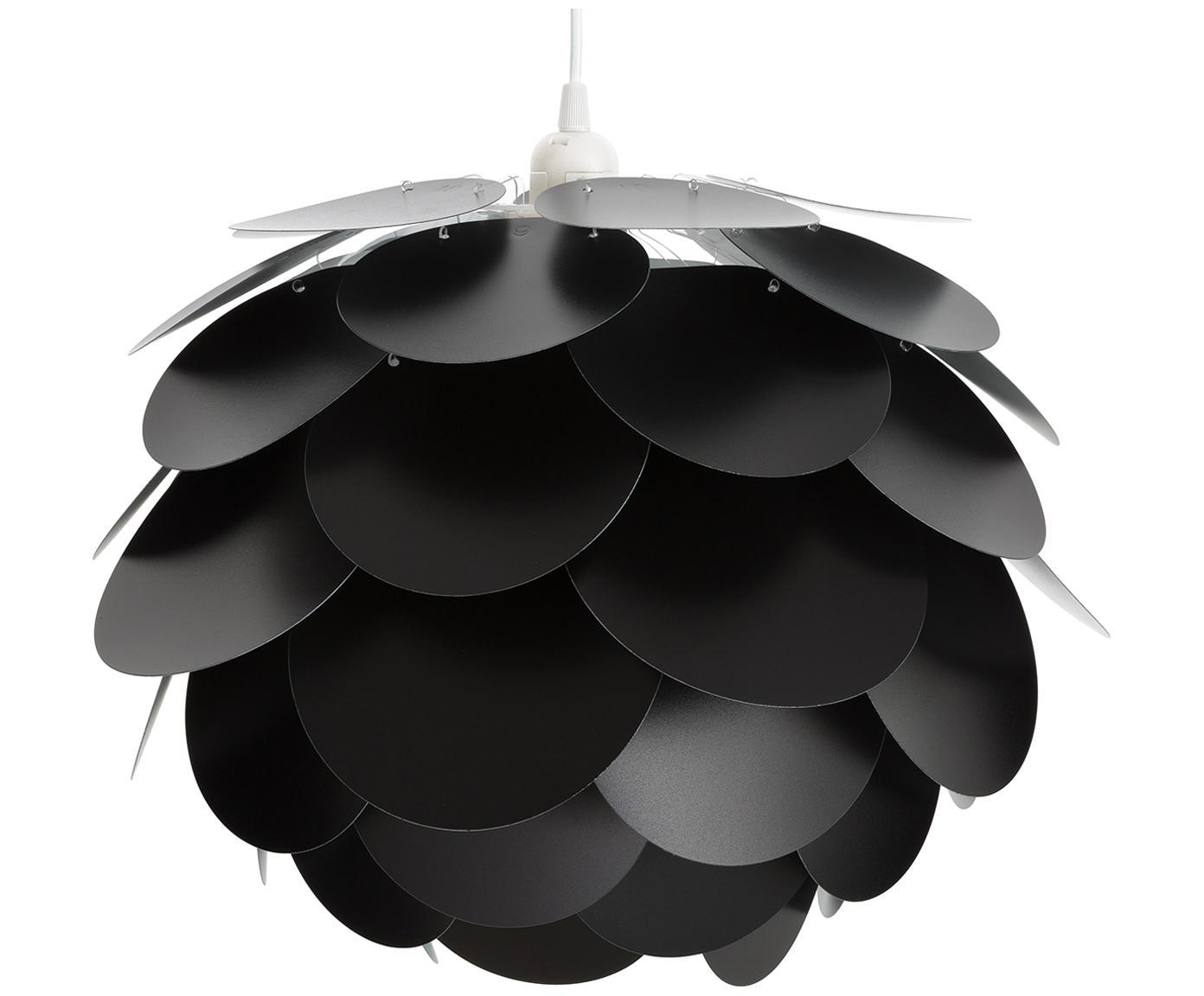 Pendelleuchte Pralin, Kunststoff, Schwarz, Ø 41 x H 34 cm