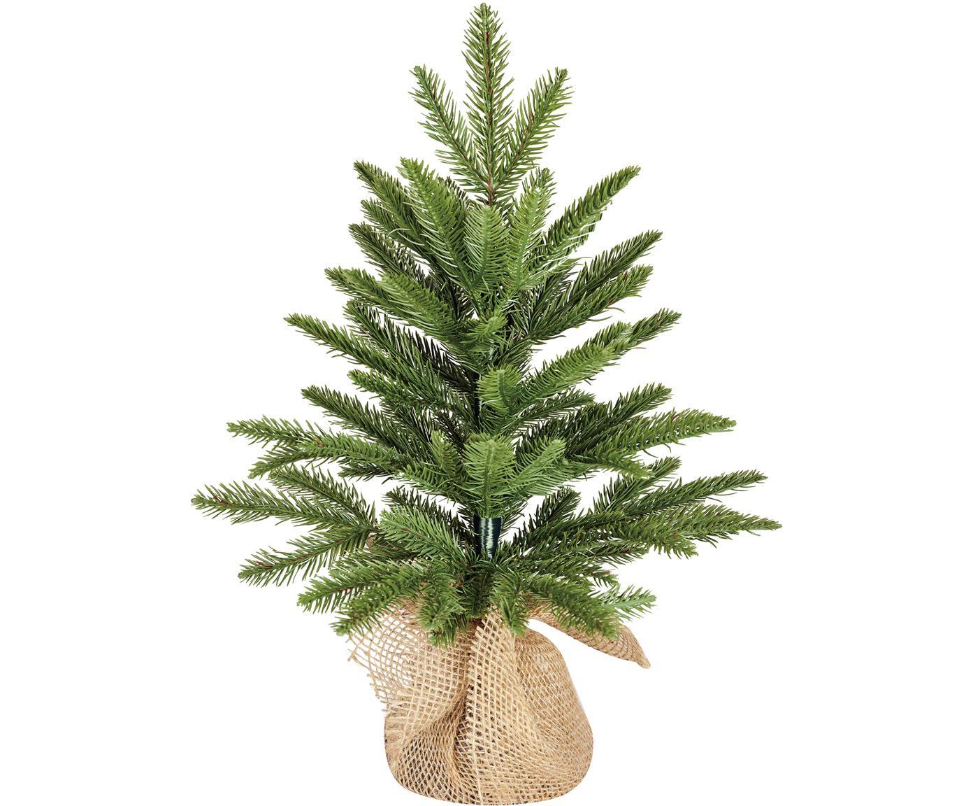 Künstlicher Weihnachtsbaum Brewer, Kunststoff (PE), Grün, Ø 36 x H 45 cm
