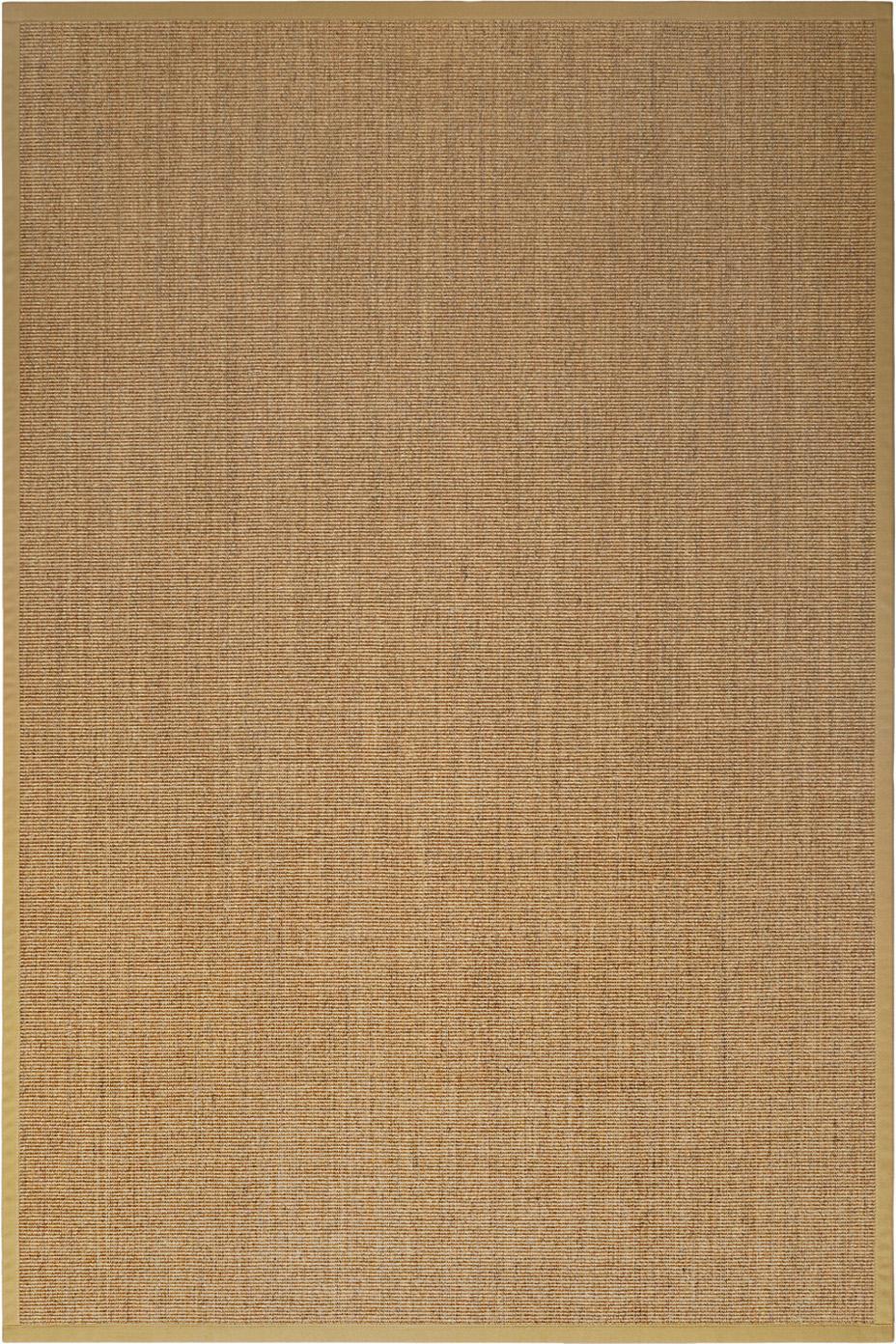 Sisalteppich Leonie in Beige, Vorderseite: 100% Sisalfaser, Rückseite: Latex, Beige, B 200 x L 300 cm (Größe L)