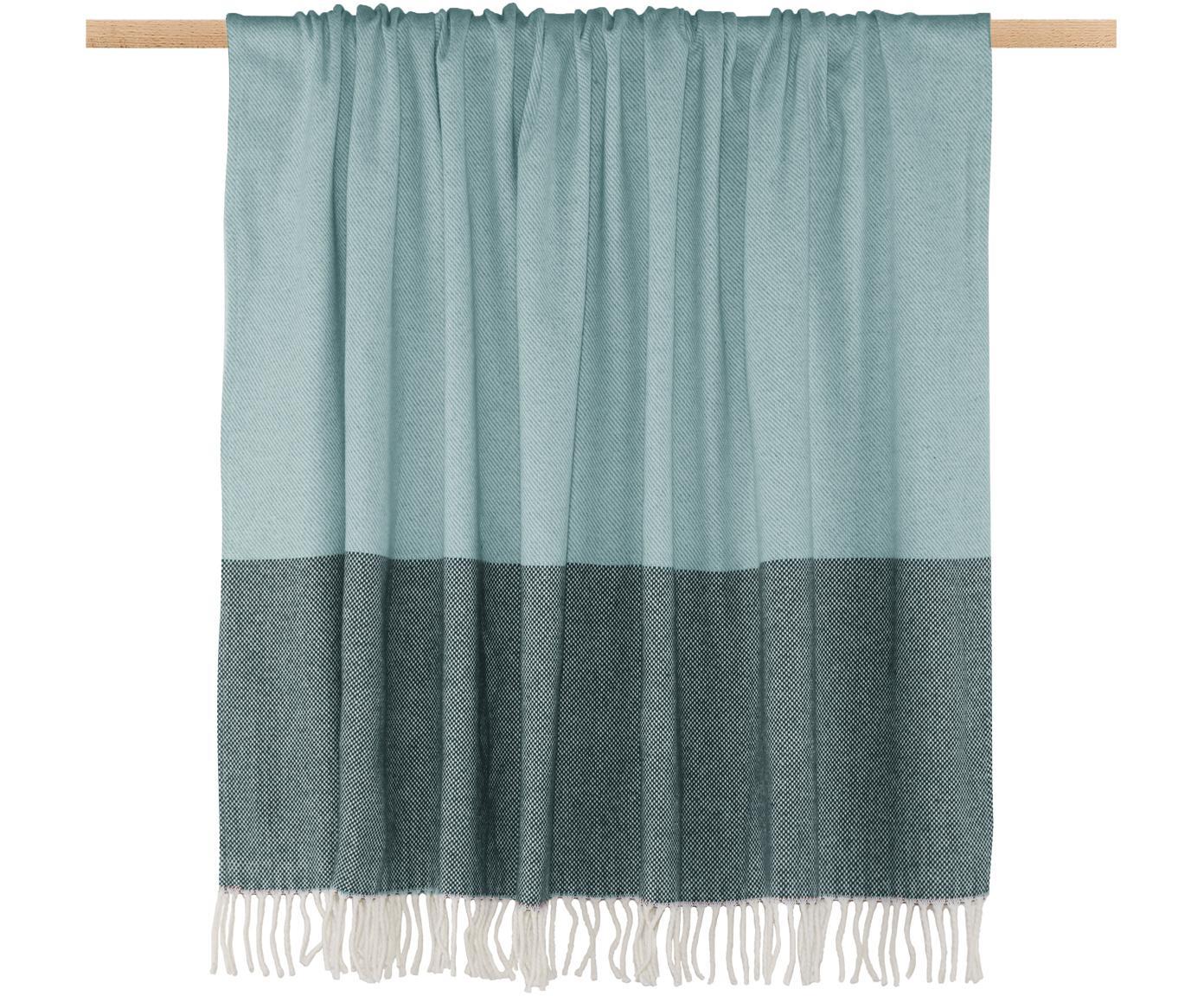 Manta Stripes, 50%algodón, 50%poliacrílico, Azul, An 150 x L 200 cm