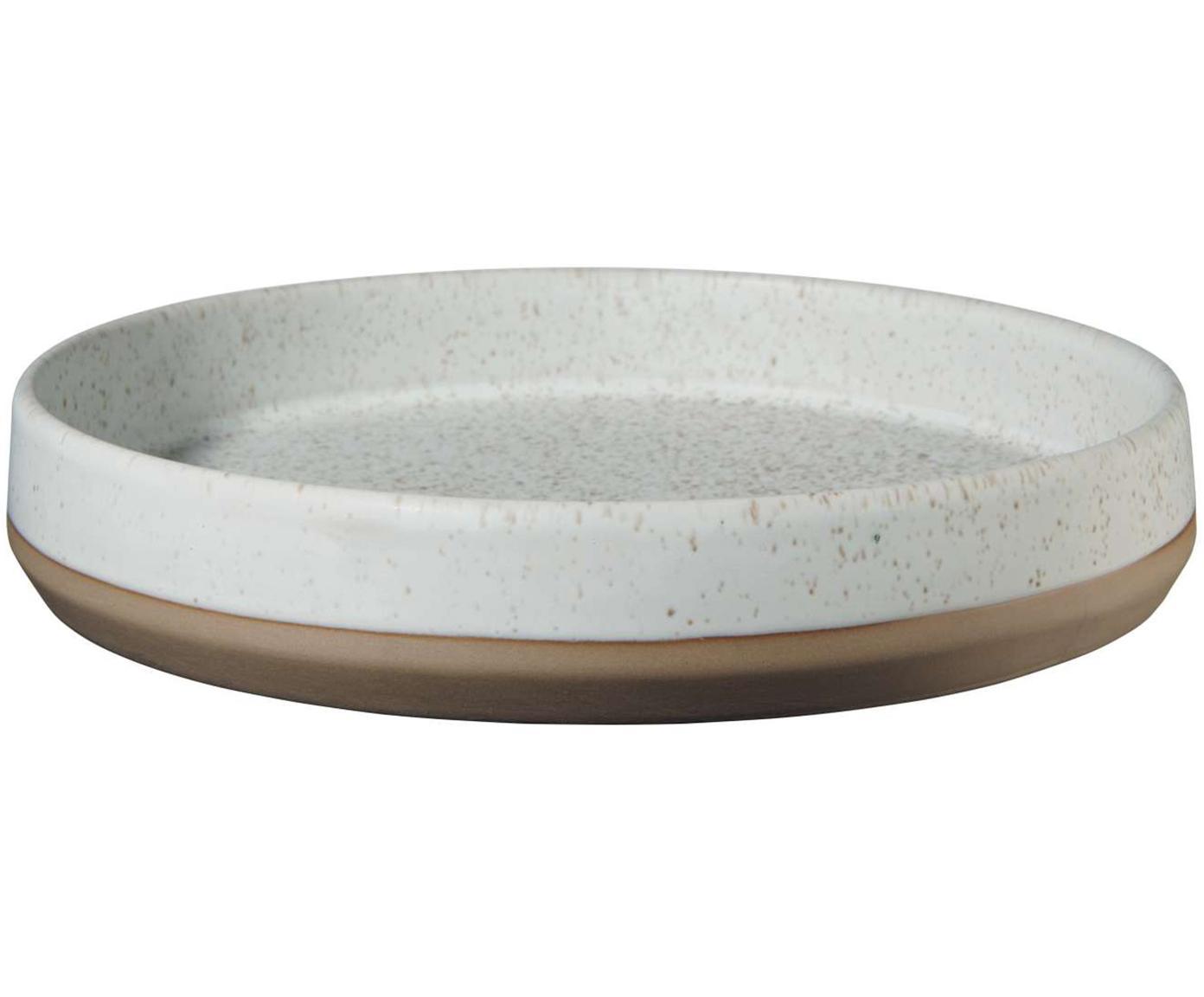 Schalen Caja mat in bruin- en beigetinten, 2 stuks, Klei, Bruin- en beigetinten, Ø 21 cm