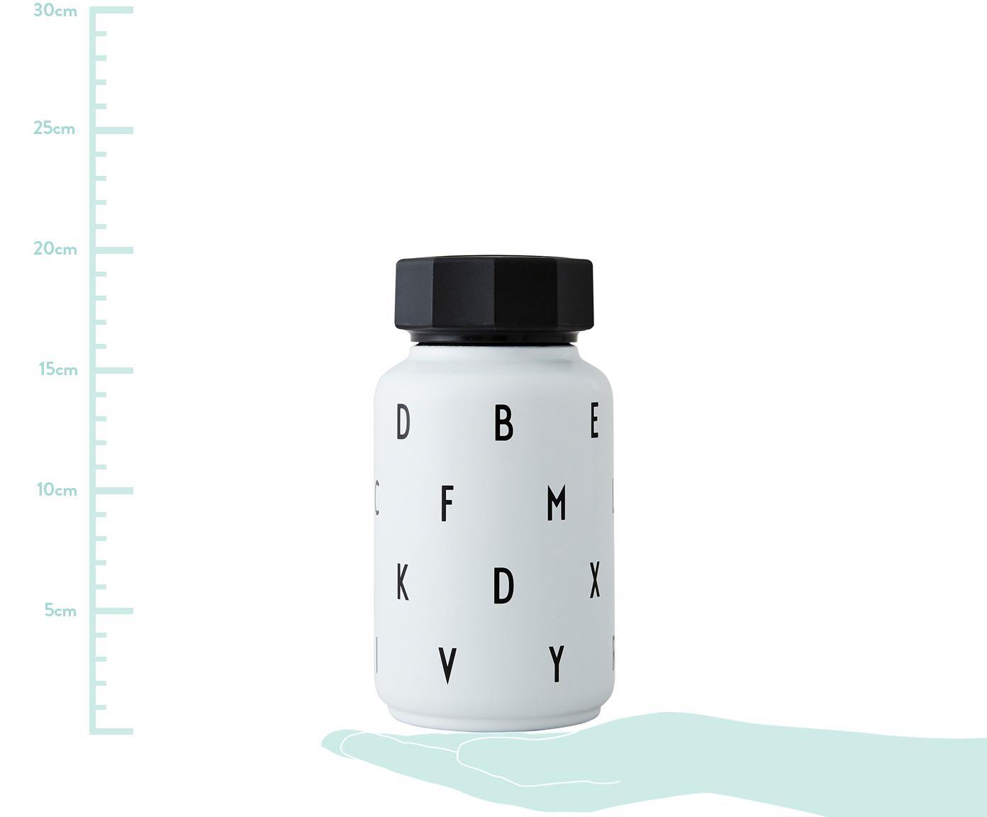 Kinder-Isoliertrinkflasche Ilona mit Trinkhalm, Weiß, 330 ml