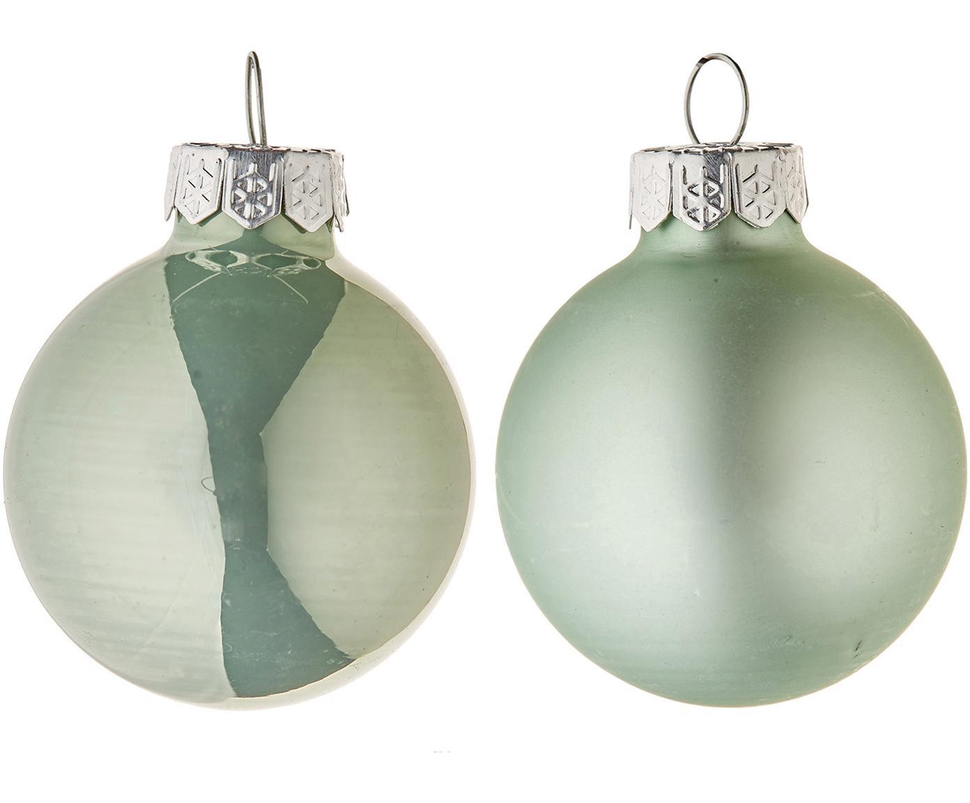 Mini-Weihnachtskugel-Set EvergreenØ4cm, 16-tlg., Grün, Ø 4 cm