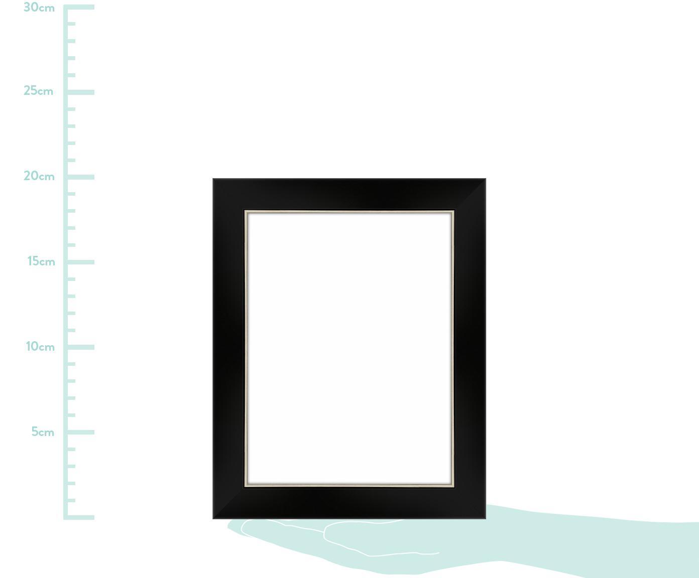 Ramka na zdjęcia Classico, Czarny, S 15 x D 20 cm