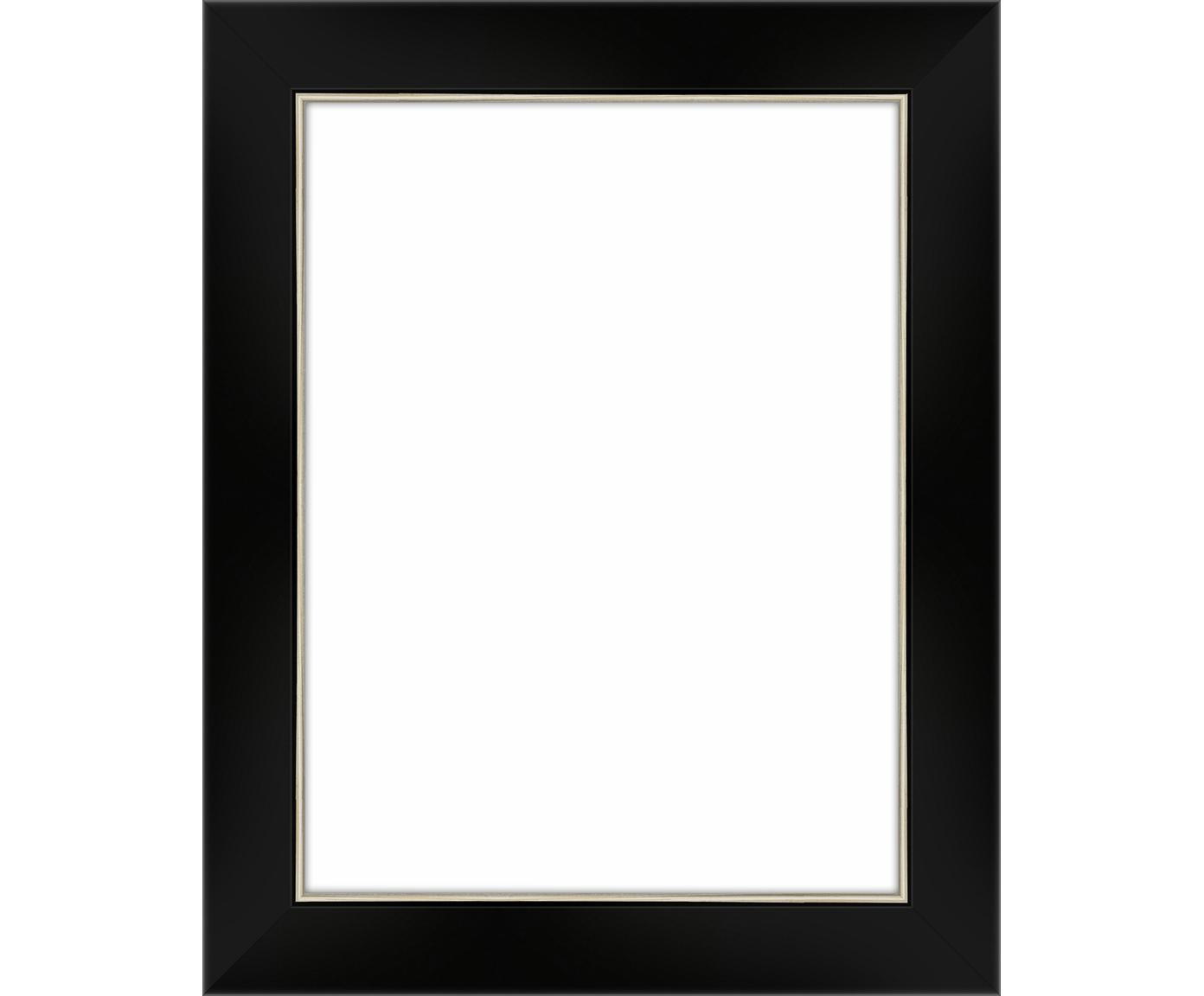 Fotolijstje Classico, Lijst: gelakt woudgrenenhout (pi, Zwart, 15 x 20 cm