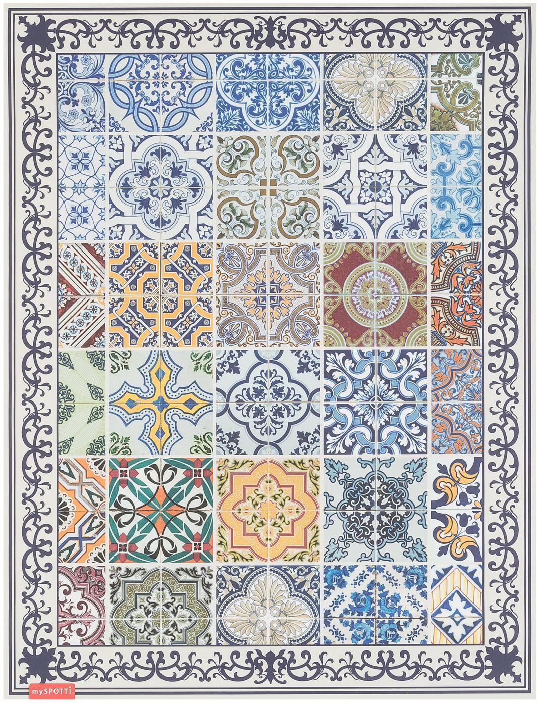 Alfombra vinílica Pablo, Multicolor, An 65 x L 85 cm