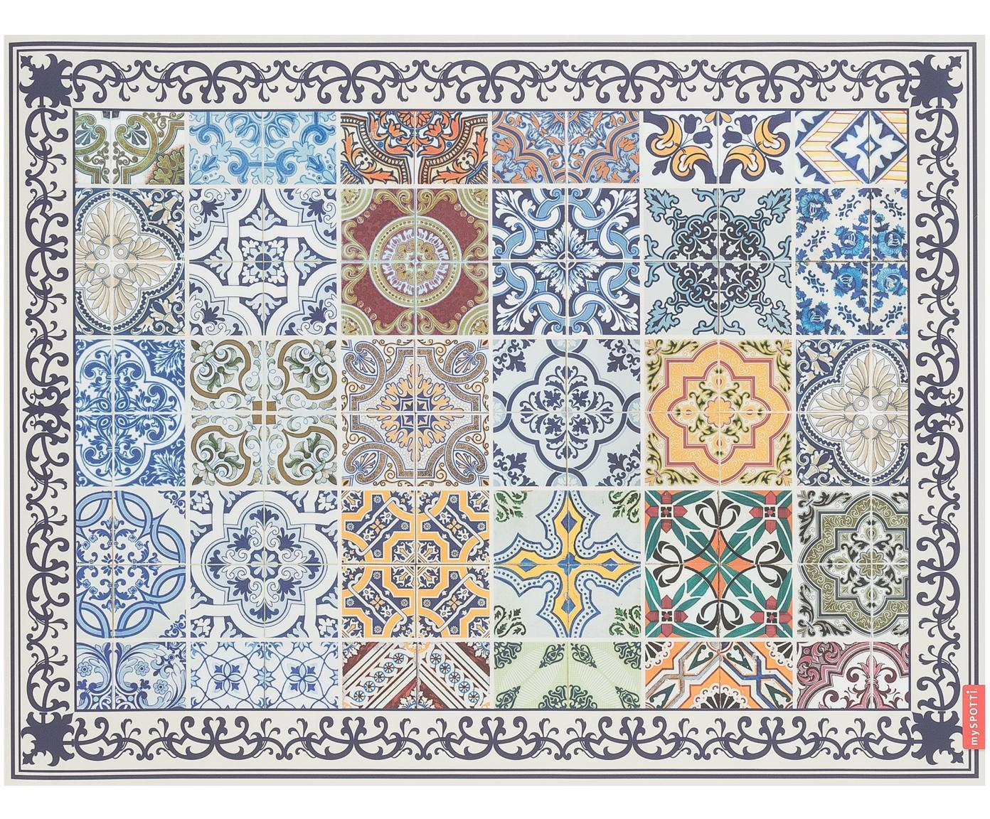 Vinyl vloermat Pablo, Multicolour, 65 x 85 cm