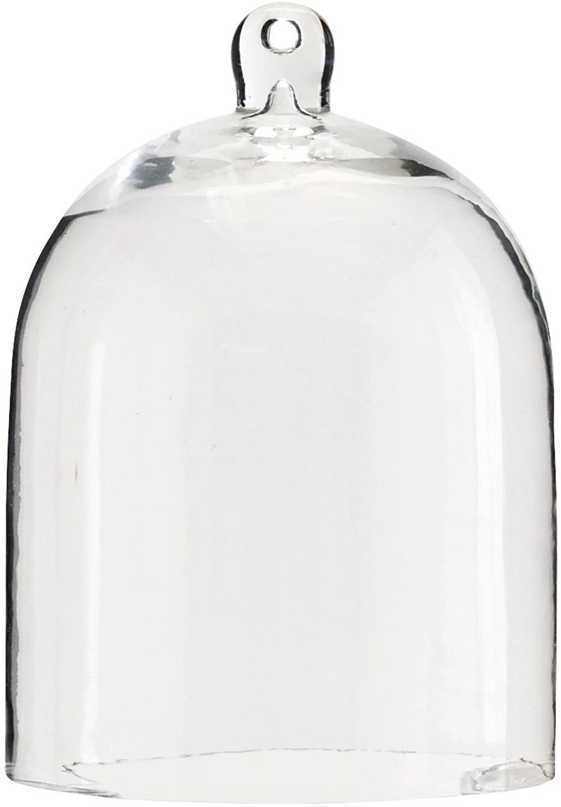 Cloche in vetro Trari, Vetro, Trasparente, Ø 13 x Alt. 18 cm