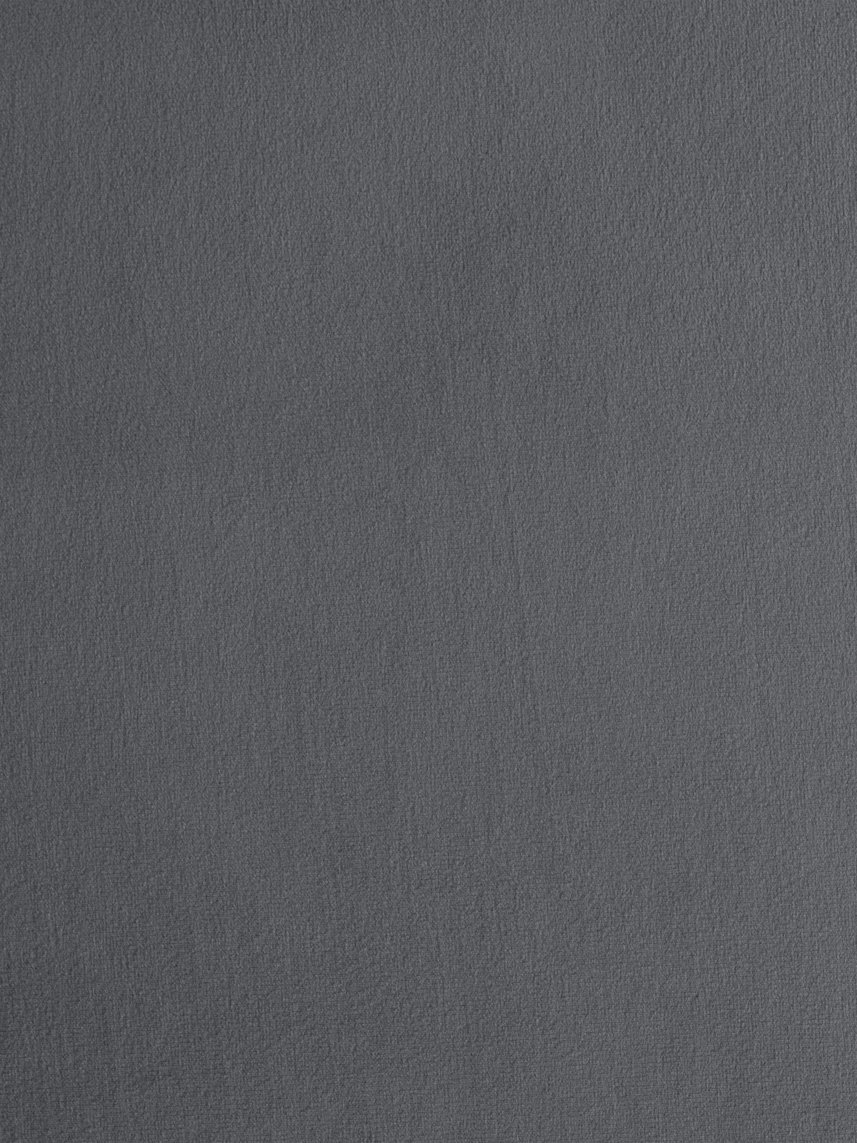 Sofa-Hocker Fluente aus Samt, Bezug: Samt (Hochwertiger Polyes, Gestell: Massives Kiefernholz, Samt Braungrau, 62 x 46 cm