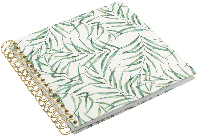Álbum de fotos Leaf, Blanco, verde, An 25 x Al 22 cm