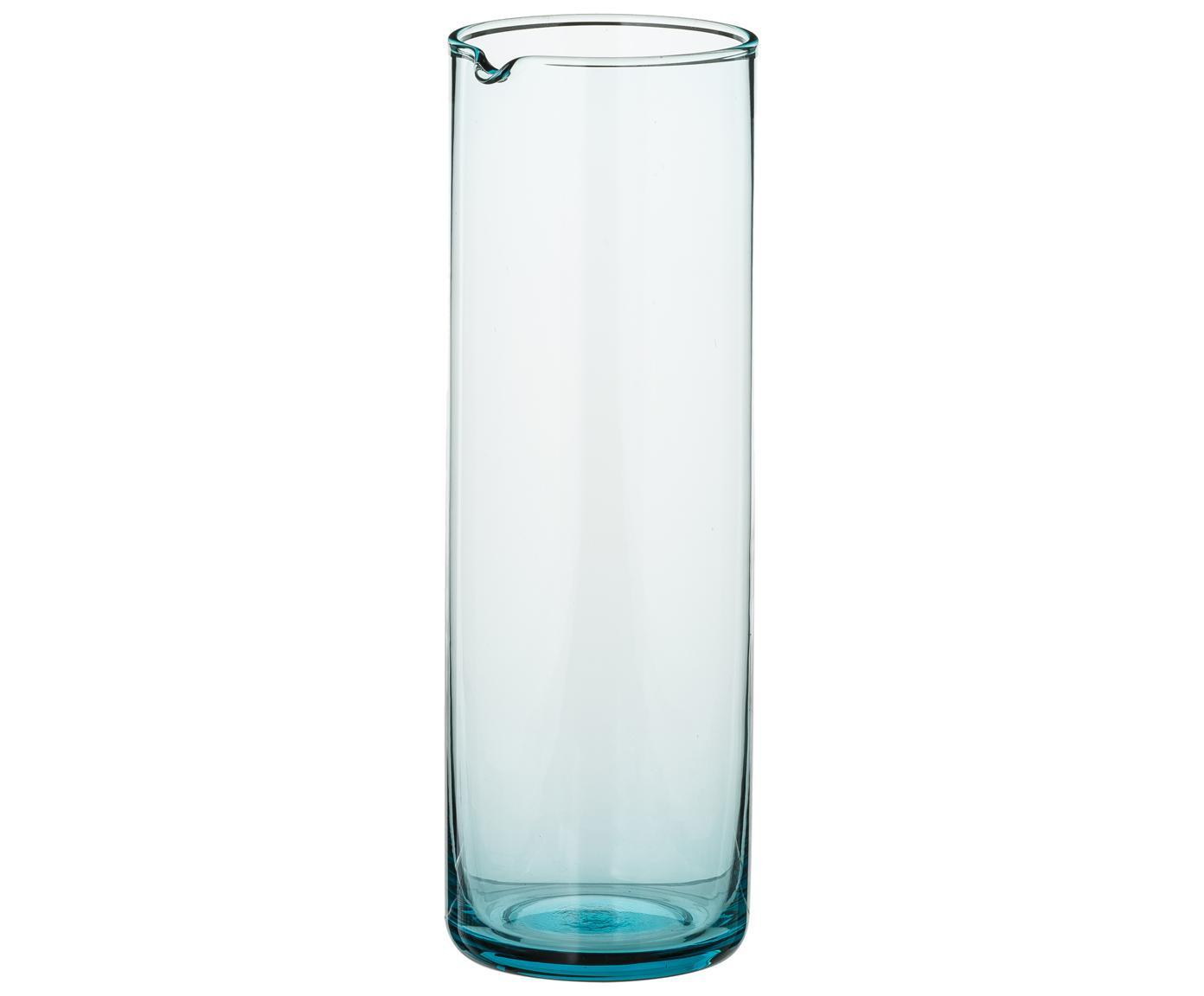 Karaf Bloom, Glas, Turquoise, 1 L