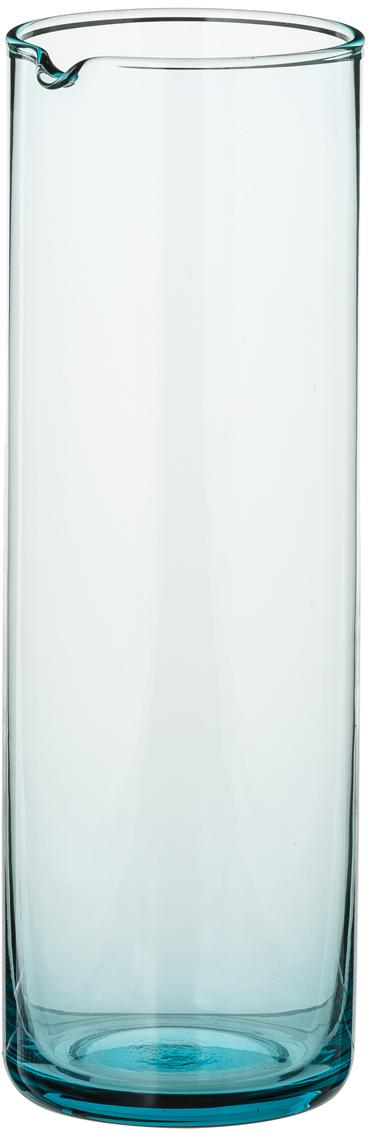 Karaffe Bloom, Glas, Türkis, 1 L