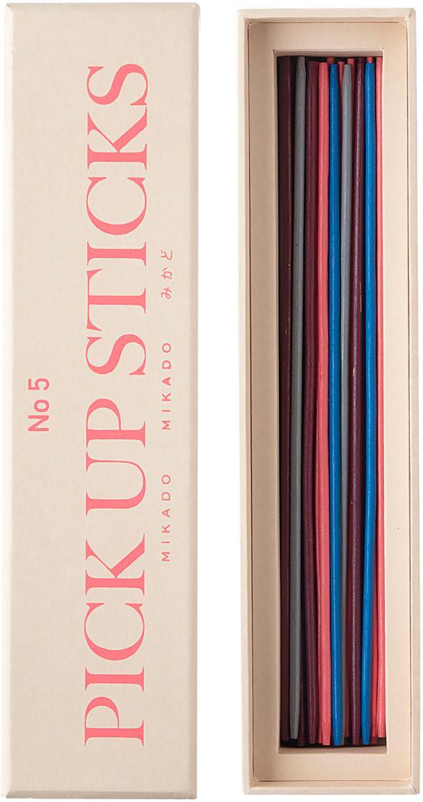 Juego Mikado Classic, 42pzas., Papel, madera, Multicolor, Ancho 22 x Alto 5 cm