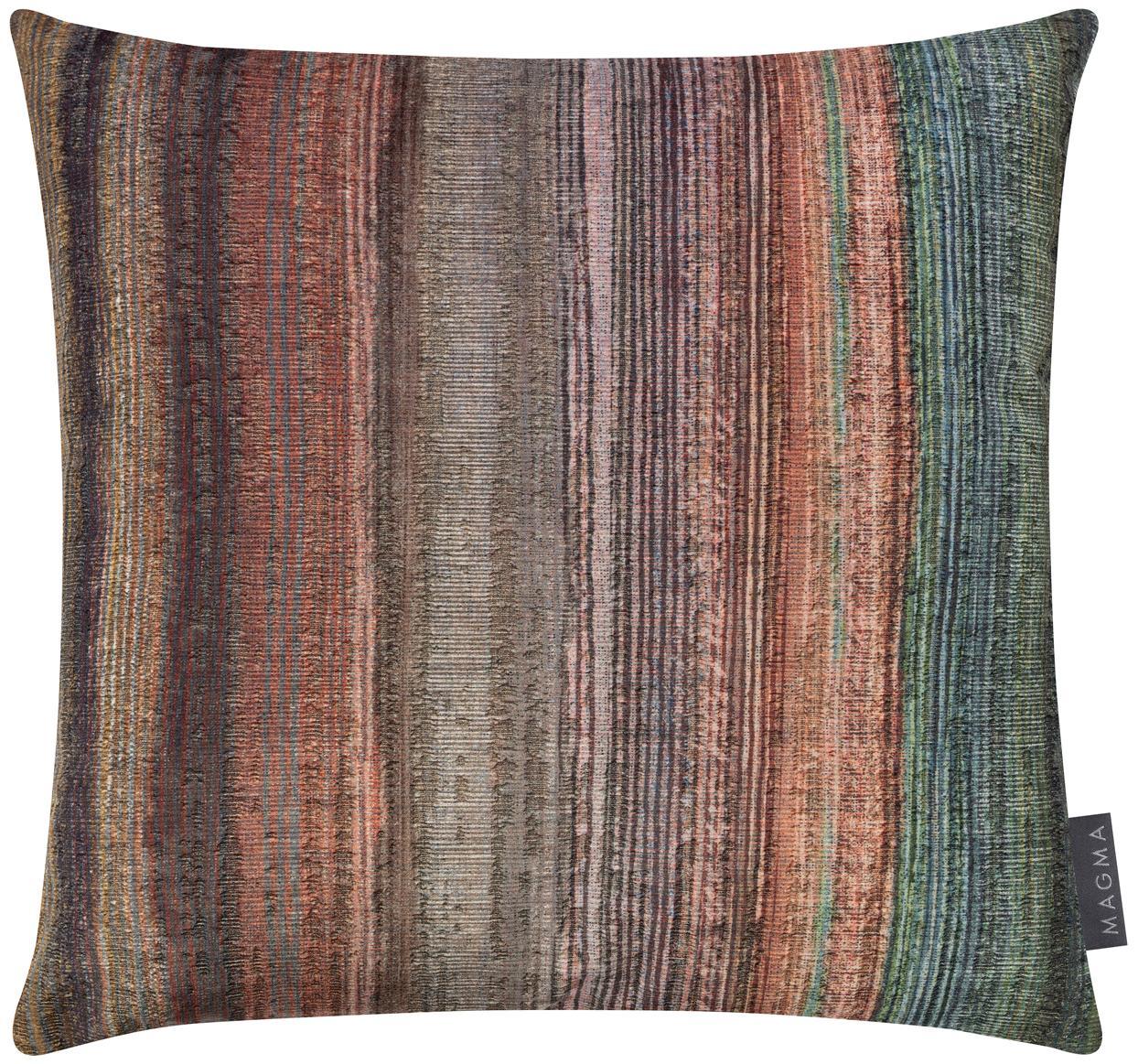 Poszewka na poduszkę z aksamitu Timon, Aksamit poliestrowy, Wielobarwny, niebieski petrol, S 40 x D 40 cm