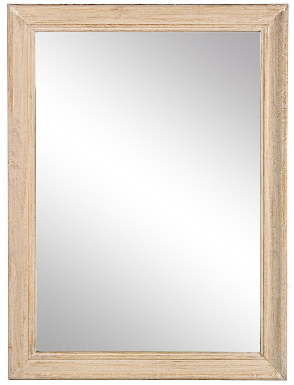 Espejo de pared Tiziano, Reverso: tablero de fibras de dens, Beige, An 60 x Al 80 cm