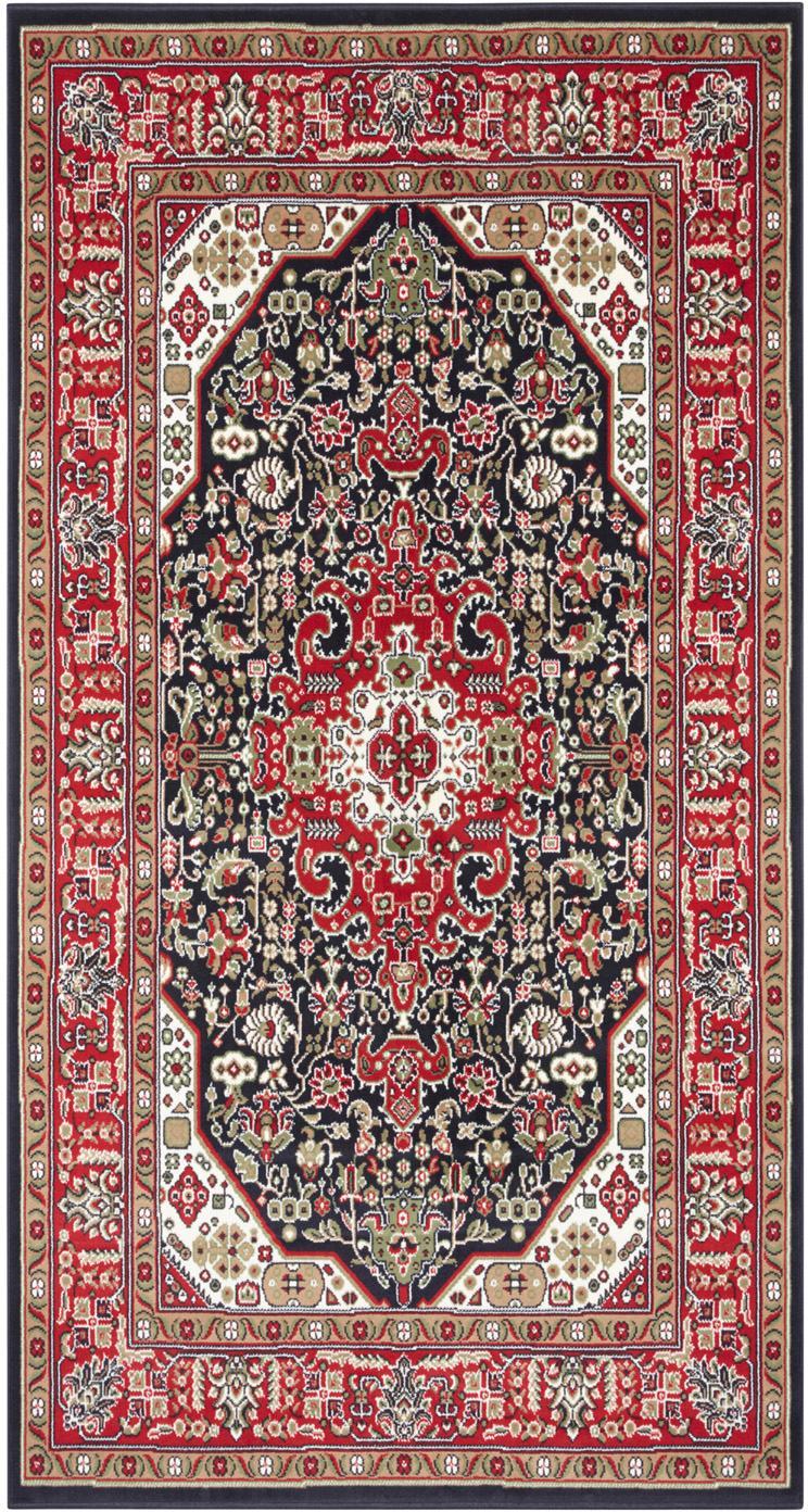 Teppich Skazar Isfahan im Orient Style, Rot, Mehrfarbig, B 80 x L 150 cm (Größe XS)