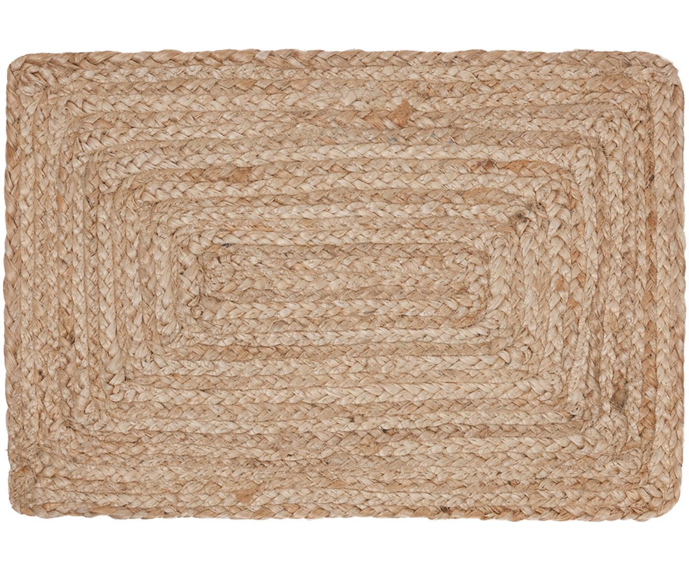 Jute Tischsets Ural, 2 Stück, Jute, Jute, 35 x 50 cm