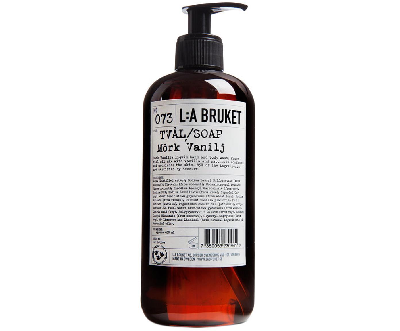 Flüssige Handseife Dark Vanilla (Vanille), Behälter: Kunststoff, Braun, 450 ml