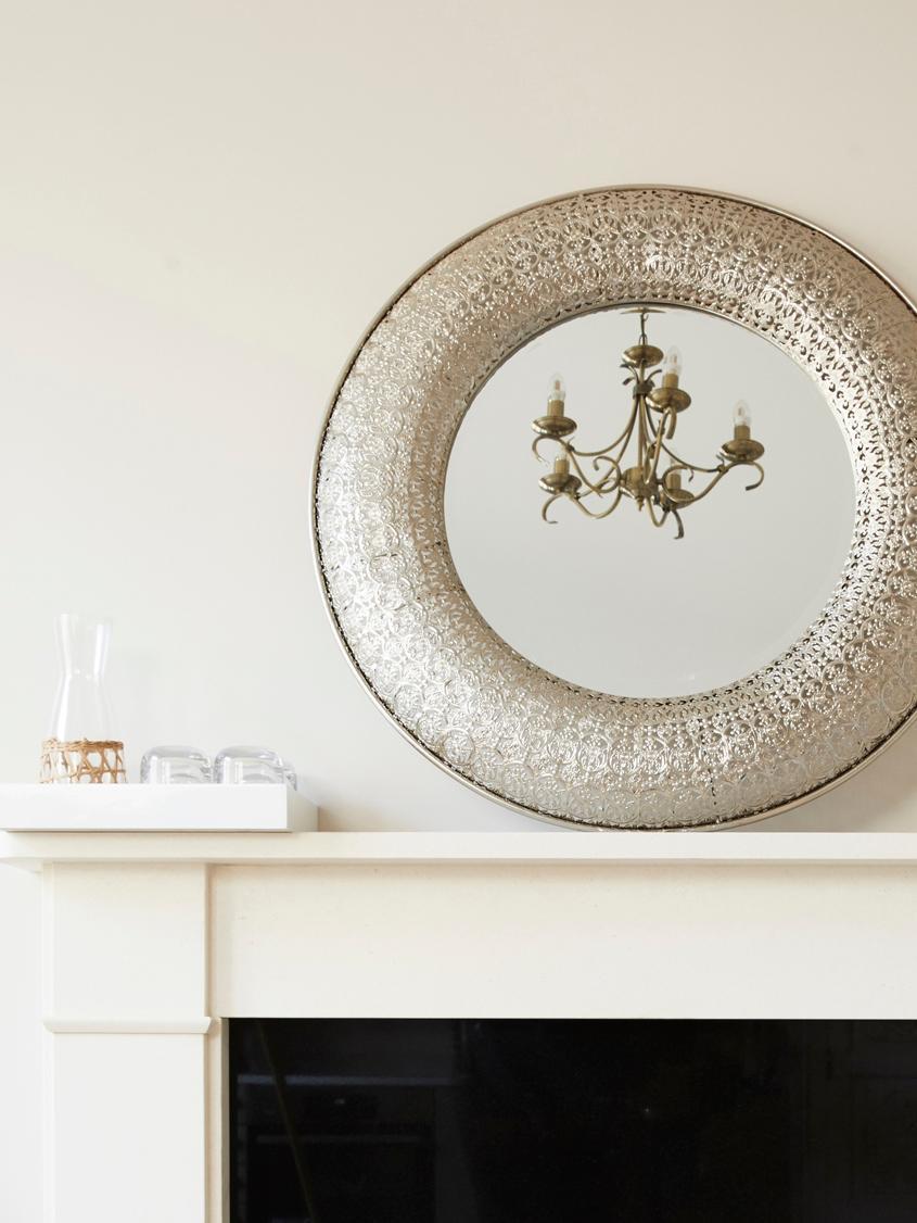 Handgemaakte karaf Wicker met decoratieve vlechtwerk, Decoratie: vlechtwerk, Transparant, lichtbruin, 1 L