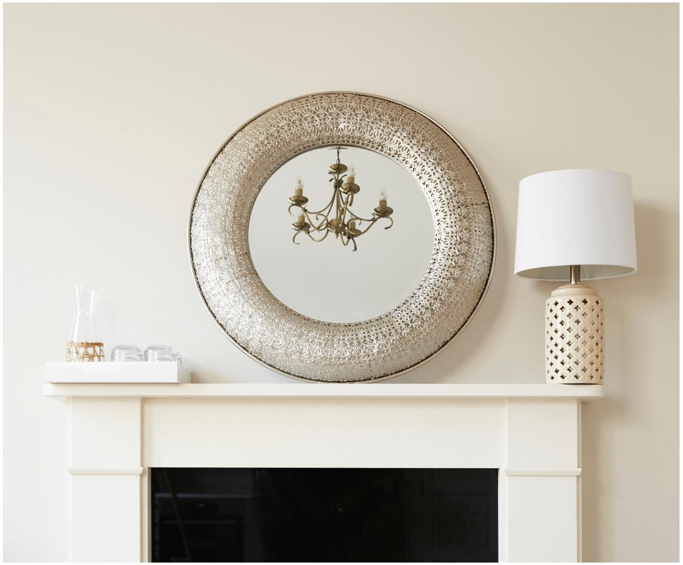 Handgefertigte Karaffe Wicker mit dekorativem Weidengeflecht, Transparent, Hellbraun, 1 L
