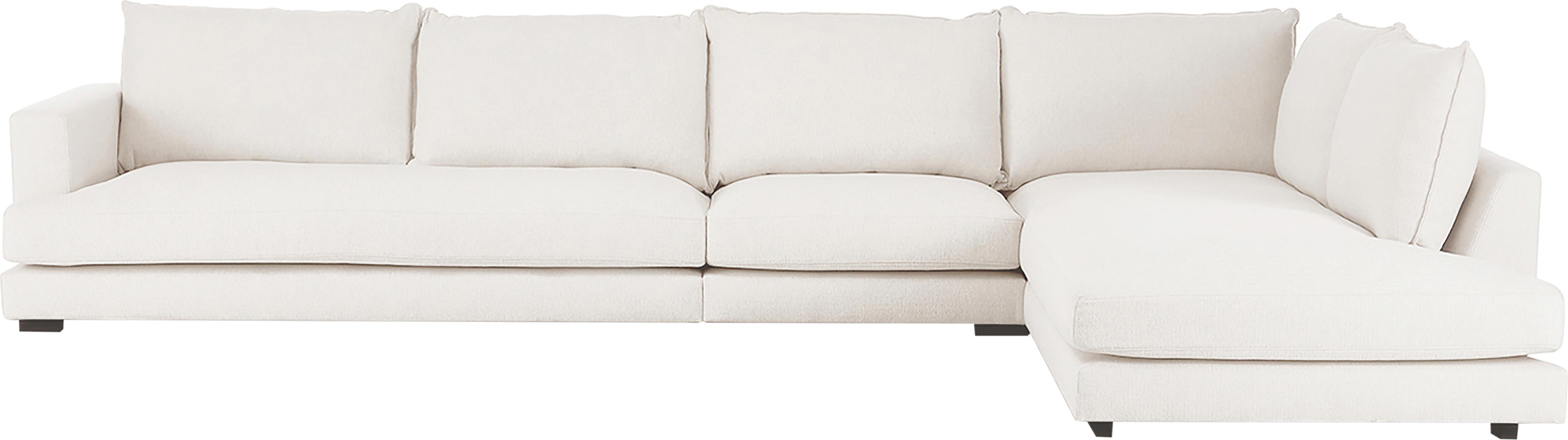XL-Ecksofa Tribeca, Bezug: Polyester 25.000 Scheuert, Sitzfläche: Schaumpolster, Fasermater, Gestell: Massives Kiefernholz, Webstoff Beige, B 405 x T 228 cm