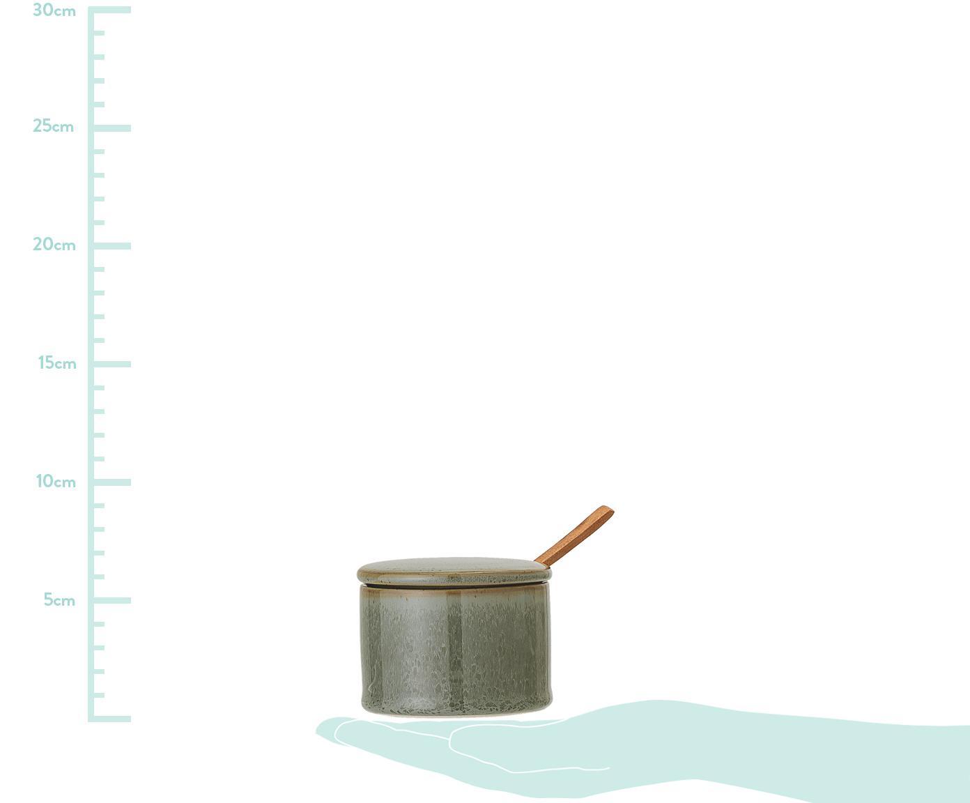 Cukiernica Pixie, 2 elem., Odcienie zielonego, Ø 8 x W 6 cm