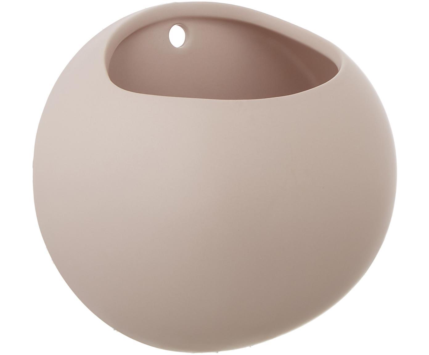 Portavaso da parete Globe, Ceramica, Rosa, Ø 15 x Alt. 10 cm