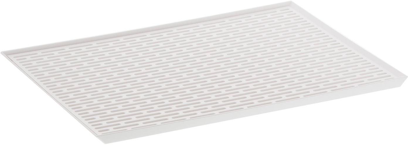 Scolapiatti Tower, Materiale sintetico (ABS), Bianco, Larg. 43 x Alt. 2 cm