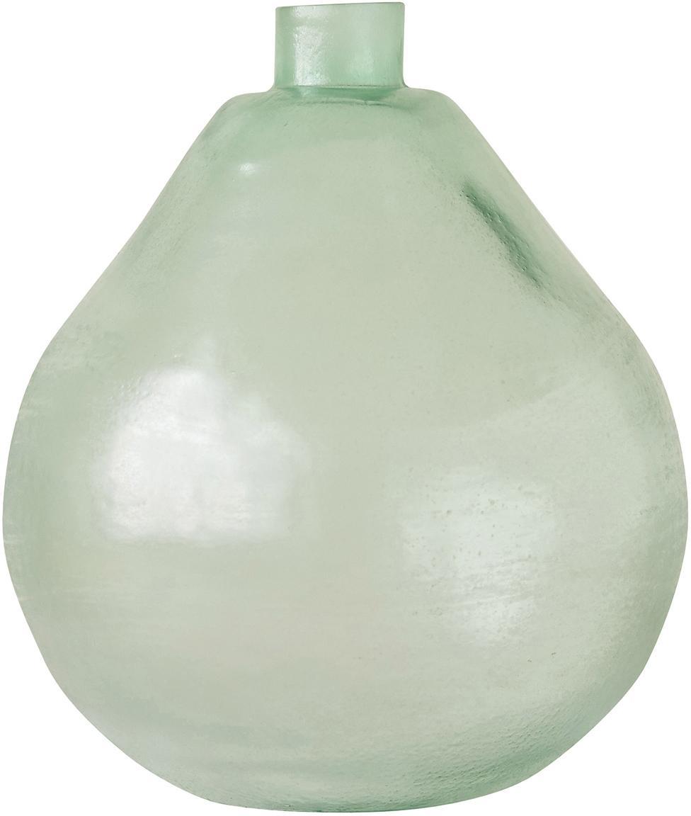 Glas-Vase Bottle, Glas, Grün, Ø 22 x H 29 cm