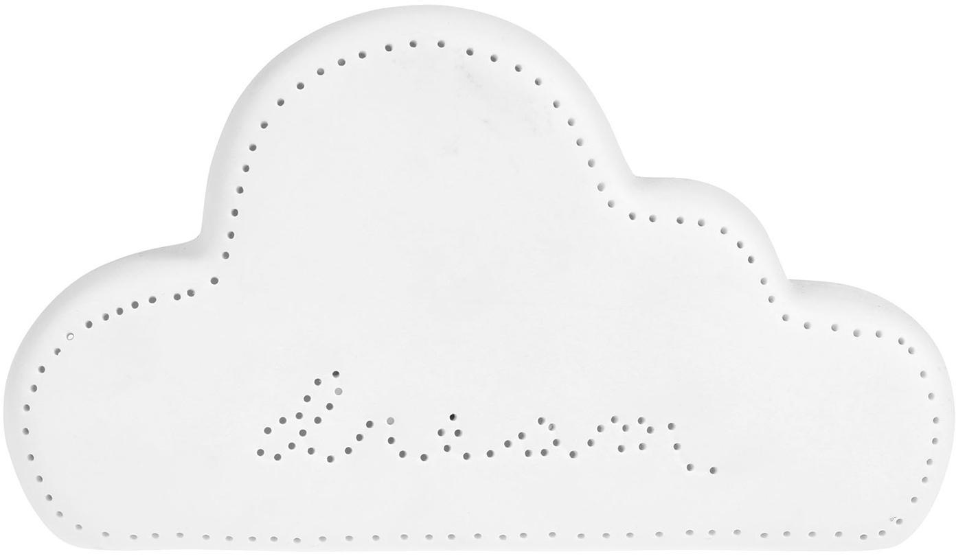 Nuvola a LED in porcellana Dream, Porcellana, Bianco, Larg. 21 x Alt. 12 cm