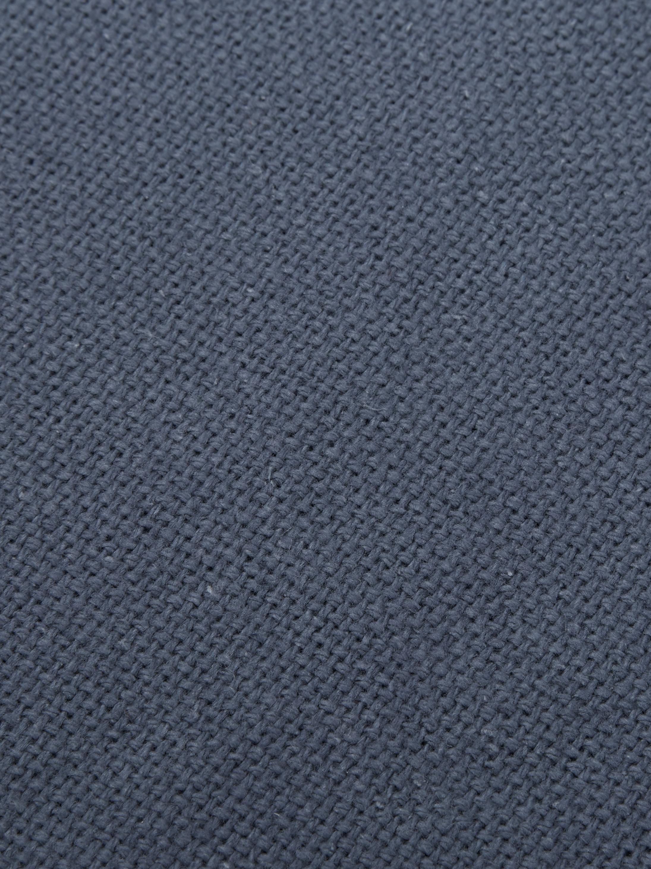 Coussin 40x40 bleu Prague, Bleu