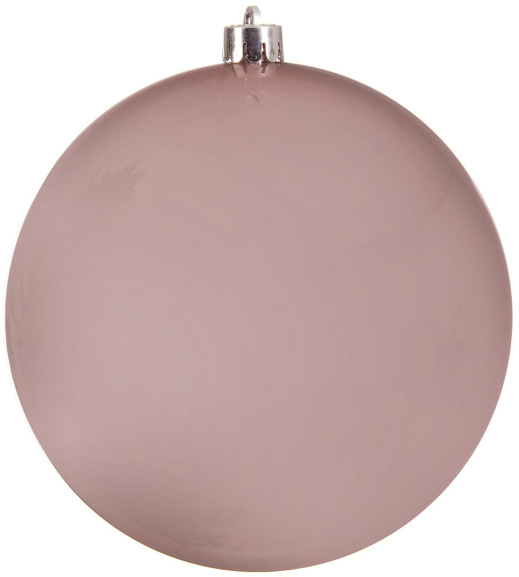 Kerstbal Minstix, Kunststof, Roze, Ø 20 cm