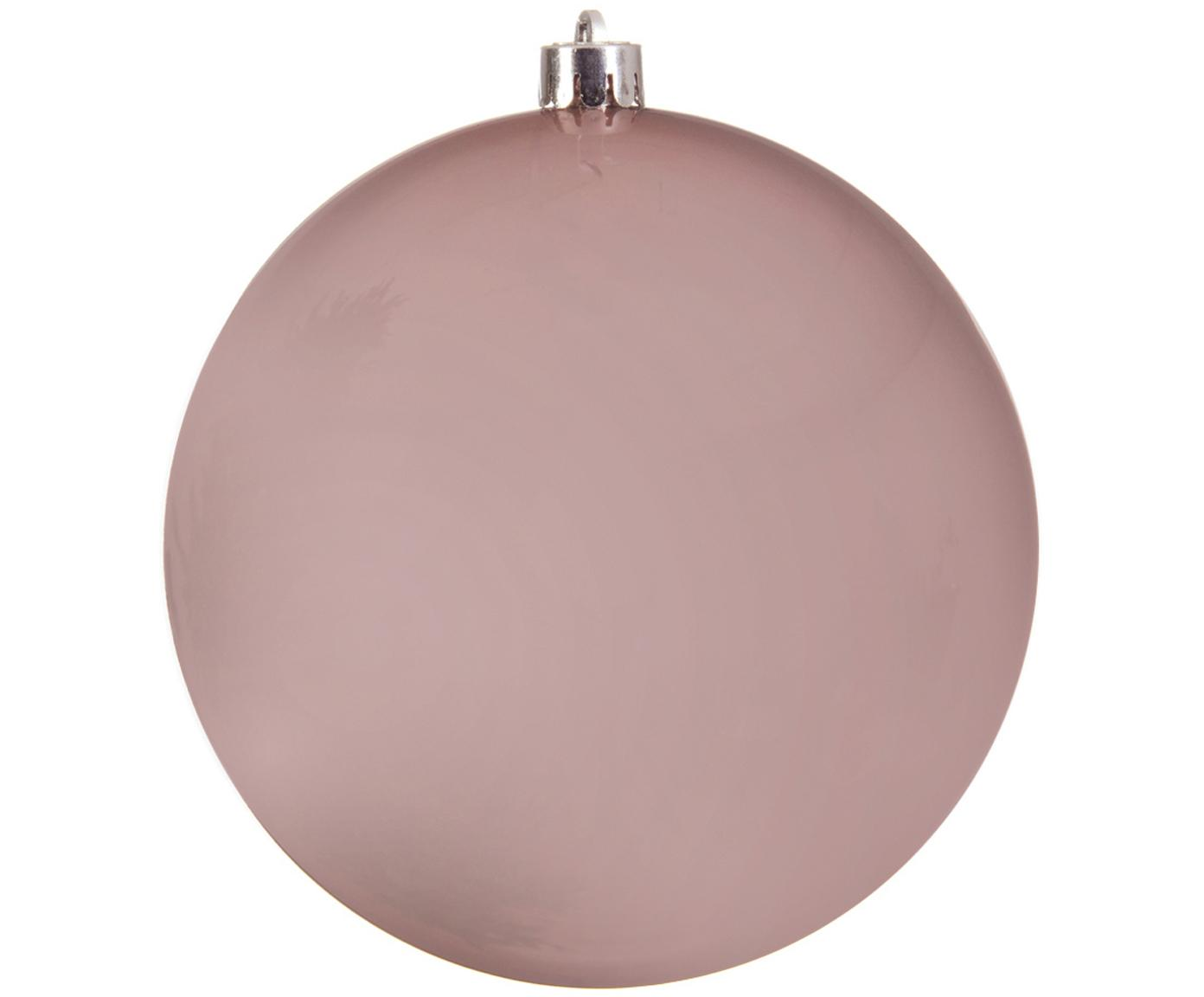 Palla di Natale Minstix, Materiale sintetico, Rosa, Ø 20 cm