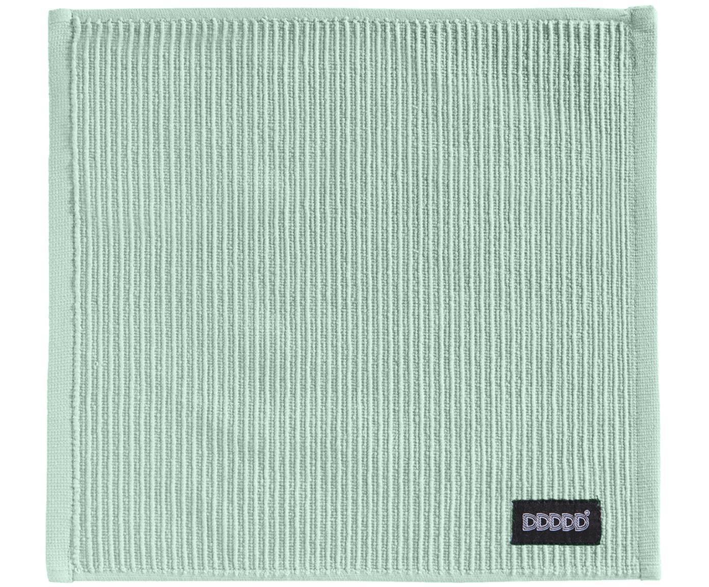 Paños de cocina Basic Clean, 4uds., Algodón, Verde, An 30 x L 30 cm